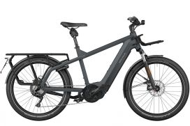 R&M Multicharger GT touring HS utility grey/black matt