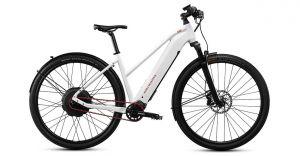 MTB Cycletech Code 45 Lady wit speedelec (met rode accenten)