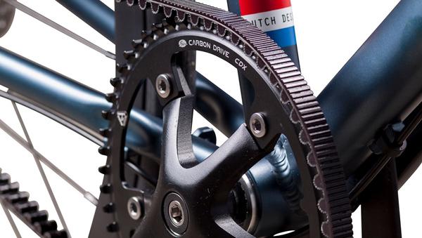 Elektrische fietsen riem of ketting