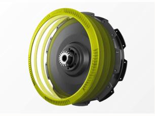 Neodrives achterwiel motor